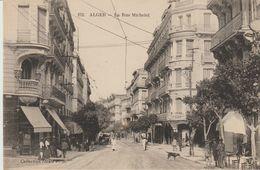 CPA -  ALGER - LA RUE MICHELET - 152 - P. S. - Algiers