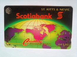 13CSKA Scotiabank EC$20 - St. Kitts & Nevis