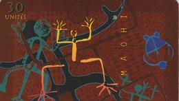 TELECARTE 30 UNITES.. ..POLYNESIE FRANCAISE...MAOHI - French Polynesia