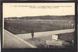 62286 . ENVIRONS DE BOULOGNE SUR MER . LE CIMETIERE ANGLAIS DE TERLINCTHUM  . WIMILLE (recto/verso) - France