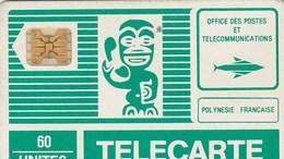 TELECARTE 60 UNITES.. ..POLYNESIE FRANCAISE... - French Polynesia