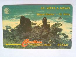 18CSKA Black Rocks EC$60 - St. Kitts & Nevis