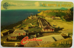 55CSKA Brimstone Hill EC$10 (New Logo) - St. Kitts En Nevis