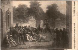 5LST 251. LES VOLONTAIRES DEVANT LE PARC EN 1830 - Unclassified