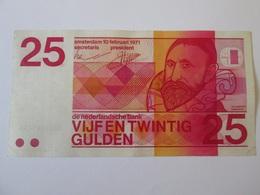 Netherlands 25 Gulden 1971 Banknote - [2] 1815-… : Kingdom Of The Netherlands