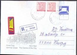 YUGOSLAVIA - JUGOSLAVIA - R  Stamp 1997 + A Stamps 1999 - Commercial Correspondence - 1999 - Briefe U. Dokumente