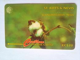 77CSKA Sea Island Cotton EC$20 - St. Kitts & Nevis