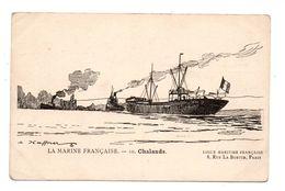 BATEAU . PÊCHE . Marine Française . Chalands - Réf. N°9398 - - Pêche