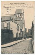 CPA - LE PRE-SAINT-GERVAIS (Seine Saint Denis) - La Nouvelle Eglise Et La Rue Paul De Rock - Le Pre Saint Gervais