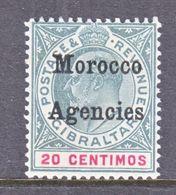 BRITISH  LEVANT  MOROCCO  22  ** - Morocco Agencies / Tangier (...-1958)