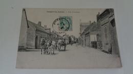 LONGPRE -LES-AMIENS : Rue D'Amiens - France