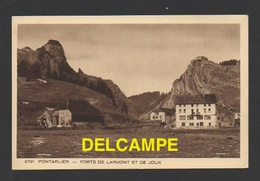 DD / 25 DOUBS / PONTARLIER / FORTS DE LARMONT ET DE JOUX / CIRCULÉE EN 1938 - Pontarlier