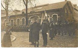 02 ST QUENTIN CARTE PHOTO REVUE DES DECORATIONS 1913 MILITARIA CPA 2 SCANS - Saint Quentin