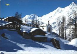 61334910 Saas Grund Trift Alphubel Taeschhorn Dom Kapelle / Saas-Grund /Bz. Visp - VS Valais