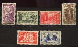 Madagascar  * N° 193 à 198 - Expo. De Paris 1937 - Unused Stamps