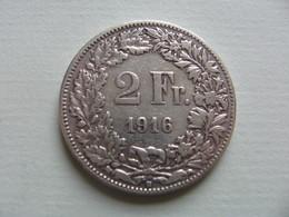 SUISSE     2 Francs  1916 - Svizzera