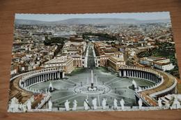 1688- Roma, Panorama - 1956 - Vaticano