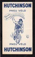 """Buvard Pneu Vélo """" Hutchinson """" Illustrateur Ou Illustration D'après Mich - Bikes & Mopeds"""