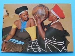 ZULULAND NATAL( Ukhamba ) Anno 19?? ( Zie Foto Details ) !! - Afrique Du Sud
