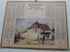 1933 Vieilles Maisons à Saillé... / Carte Des Chemins De Fer NORD ( Oberthur Rennes : Zie/voir Photo Pour/voor Detail !! - Calendriers