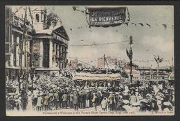 PORTSMOUTH  Welcome To The French Fleet Sports  Day 1905  ( 2 Scans ) - Portsmouth