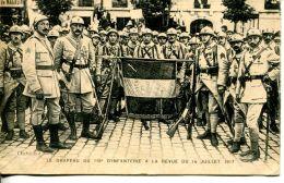 N°61163 -cpa Lisieux -le Drapeau Du 119è Régiment D'infanterie- - Lisieux