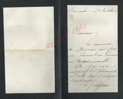 4 LETTRES DE 1899 ECRITE MIGENNES GARE DE LAROCHE X VENIZY ECT : - Manuscripts