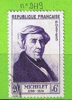 FRANCE YT N°949 OBLIT - France
