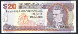Barbados - 20 Dollars 2000 - P63a - Barbados