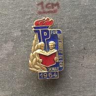 Badge (Pin) ZN006746 - Ernst Thälmann Pioneer Organisation East Germany 1964 - Associations