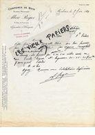 59 - Nord - ROUBAIX - Facture ROGIER -  Commerce De Bois - Scierie - 1924 - REF 88D - 1900 – 1949