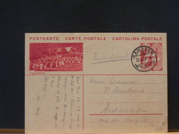 75/725  CP SUISSE  1934 - Stamped Stationery