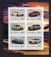 3x (3pcs) Transport Auto Cars  Audi  - Imperf  - Private Local Issue - Vignetten (Erinnophilie)