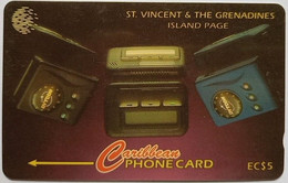 259CSVB Island Page EC$5 - St. Vincent & The Grenadines