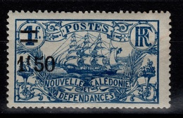 Nouvelle Calédonie - YV 134 N* Cote 2,20 Eur - New Caledonia