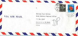 Japan Air Mail Cover Sent To Denmark 2-3-1984 - Poste Aérienne