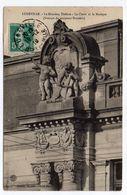 """LUNEVILLE--1910--Le Nouveau Théâtre--""""Le Chant Et La Musique"""" (Groupe Du Sculpteur Bussières ) - Luneville"""