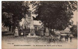 Magny Les Aubigny : Monument Aux Morts Pour La Patrie (Editeur Prizon - Louys Et Bauer, Dijon, LB) - Autres Communes