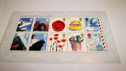 Bloc Royal Mail + Transport + Cadeau+ Anniversaire +fleur - Transport