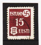 AUA443 DEUTSCHE BESETZUNG ESTLAND 1941 Michl 1 Gestempelt SIEHE ABBILDUNG - Besetzungen 1938-45