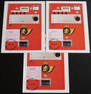 BELGIEN 1984 Mi-Nr. ATM 3 Satz 1 MK/MC - Viñetas De Franqueo