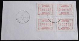 KUWAIT 1985 Mi-Nr. ATM 1b SATZ 1 BRIEF - Kuwait