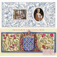 France - Feuillet Bloc Souvenir N° 136 ** Histoire Grandes Heures. Anne De France, Dame De Beaujeu. Traité De Picquigny - Foglietti Commemorativi