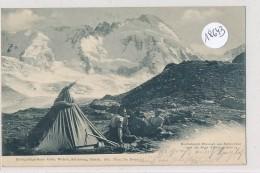 CPA (précurseur)  -18643- Suisse - Hochalpines Bivouak Am ScHönbühl - VS Valais