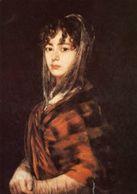 Washington - Cartolina FRANCISCA SABASA Y GARCÌA Di Francisco De GOYA (National Gallery Of Art) - P24 - Pittura & Quadri