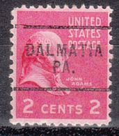 USA Precancel Vorausentwertung Preo, Locals Pennsylvania, Dalmatia 703 - Vereinigte Staaten