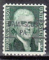 USA Precancel Vorausentwertung Preo, Locals Pennsylvania, Damascus 841 - Vereinigte Staaten