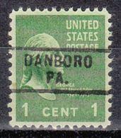 USA Precancel Vorausentwertung Preo, Locals Pennsylvania, Danboro 729 - Vereinigte Staaten