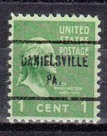 USA Precancel Vorausentwertung Preo, Locals Pennsylvania, Danielsville 713 - Vereinigte Staaten