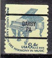 USA Precancel Vorausentwertung Preo, Bureau Pennsylvania, Darby 1615C-87 - Vereinigte Staaten